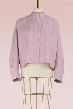 Atlantique Ascoli Romane cotton blouse