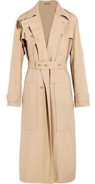 Bottega Veneta Belted Silk Trench Coat