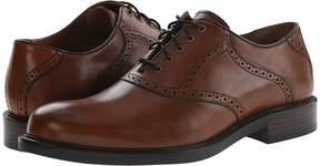 Johnston & Murphy Tabor Saddle Dress Oxford Men's Plain Toe Shoes