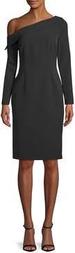 Alexia Admor Women's Classic Long-Sleeve One-Shoulder Dress