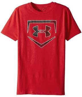 Under Armour Kids Baseball Logo Short Sleeve Tee Boy's Clothing