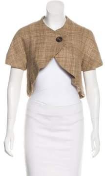 Edun Cropped Silk Jacket