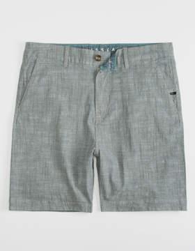 VISSLA No See Ums Heather Grey Mens Shorts