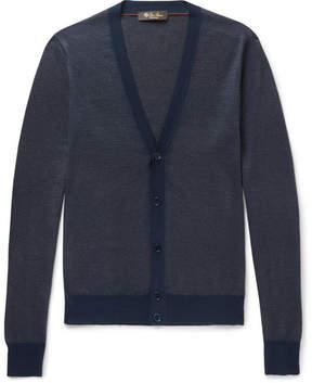Loro Piana Cashmere, Virgin Wool And Silk-Blend Cardigan