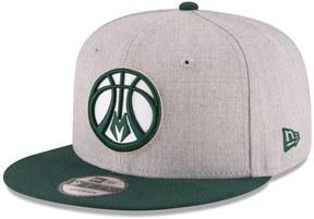 New Era Adult Milwaukee Bucks 9FIFTY Adjustable Cap