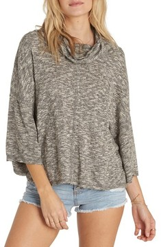 Billabong Women's Take A Stand Cowl Neck Sweater