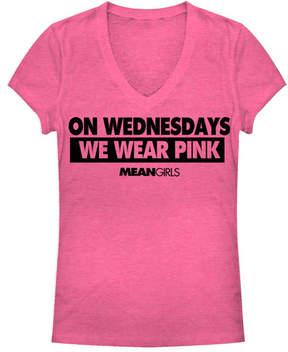 Fifth Sun Mean Girls 'We Wear Pink' V-Neck Tee - Juniors