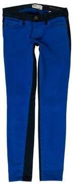Barneys New York Barney's New York Low-Rise Colorblock Jeans