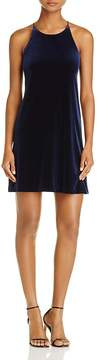 Aqua Stretch Velvet Dress - 100% Exclusive