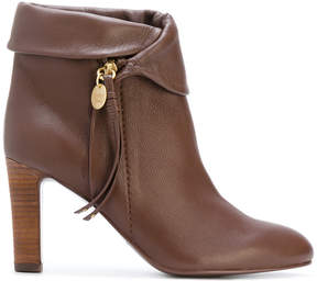 See by Chloe zipped ankle boots