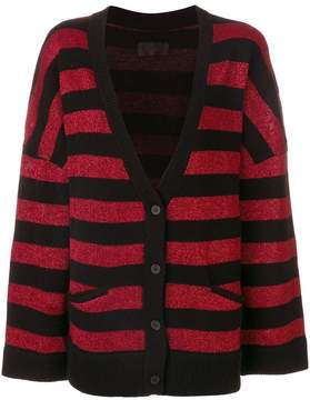 RtA striped cardigan