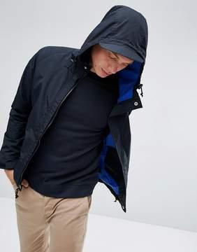 Penfield Becket Hooded Jacket Technical Waterproof in Black