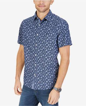 Nautica Men's Sailboat-Print Shirt
