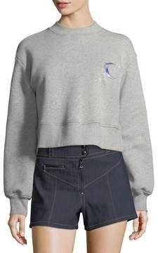 Cinq à Sept Tous Les Jours Julien Cropped Pullover Sweatshirt
