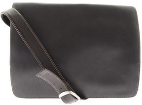 Piel Leather Small Handbag with Organizer 9032