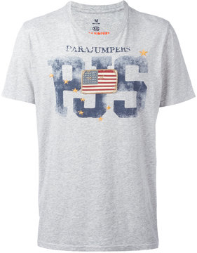 Parajumpers flag patch T-shirt