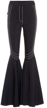 Ellery Star Full Flare wool-blend pants