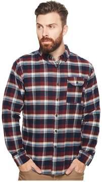 VISSLA Central Coast Long Sleeve Flannel Men's Clothing