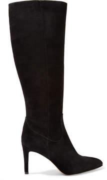 Sam Edelman Olencia Suede Knee Boots - Black