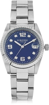 Forzieri Sabina Silver Tone Stainless Steel Women's Watch