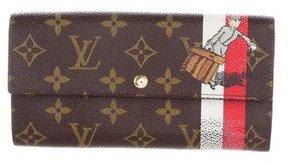 Louis Vuitton Monogram Groom Sarah Wallet - BROWN - STYLE