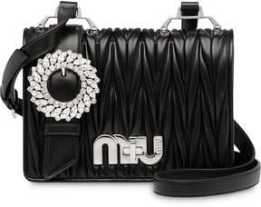 Miu Miu matelassé satchel bag