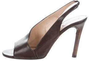 Reed Krakoff Leather Slingback Pumps
