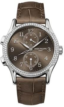 Patek Philippe Complications Brown Dial Ladies Watch