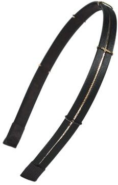 Cara Skinny Metal Chain Headband