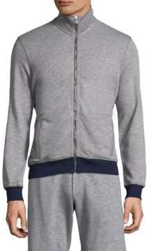 Orlebar Brown Heathered Zip-Up Jacket