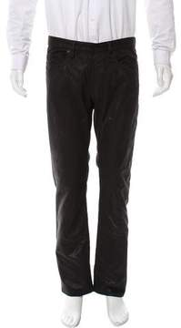 Christian Dior Flat Front Felted Jeans