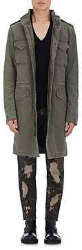 Alpha Industries Men's Quartermaster Cotton Canvas Long Field Coat
