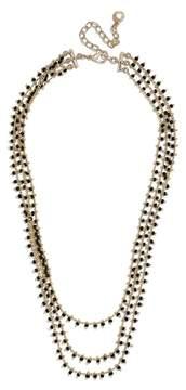 BaubleBar Kirrali Beaded Chain Necklace