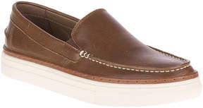 Hush Puppies Brown Arrowood Leather Venetian Loafer - Men