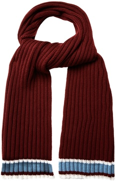 Valentino Tri-colour wool scarf