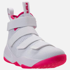 Nike Boys' Grade School LeBron Soldier 11 Basketball Shoes