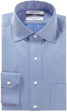 Daniel Cremieux Non-Iron Slim-Fit Spread-Collar Dobby Pattern Dress Shirt