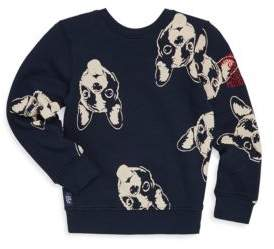 Catimini Little Boy's Dog Print Sweatshirt
