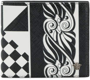 Versace baroque printed wallet