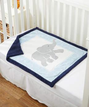 Luvable Friends Elephant Sherpa Blanket