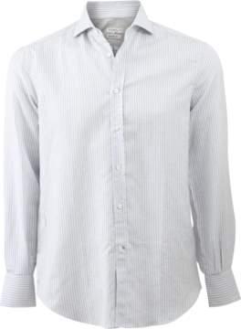 Brunello Cucinelli Linen Stripe Shirt
