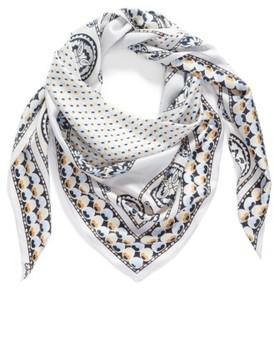 Echo Women's Medallion Triangle Silk Scarf