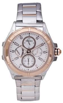 Seiko Men's Lord Watch Watch Quartz Hardlex Crystal SRL034