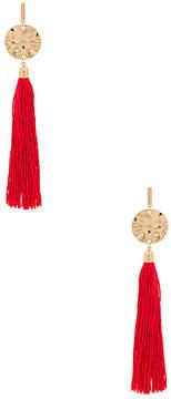 Ettika Hanging Tassel Earring