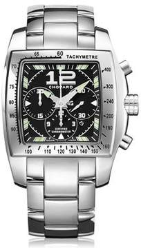 Chopard Two O Ten Automatic Chronograph Black Dial Steel Ladies Watch