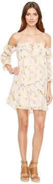 Brigitte Bailey Geneveive Off the Shoulder Floral Dress Women's Dress