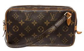 Louis Vuitton Pochette Monogramme crossbody bag - BROWN - STYLE
