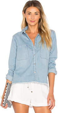 7 For All Mankind Step Hem Denim Shirt.