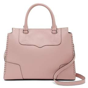 Rebecca Minkoff Panama Amorous Leather Satchel - PETAL PINK - STYLE