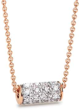 ginette_ny Mini Straw Diamond Necklace